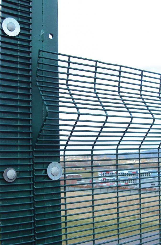 High Security Mesh Fencing Secureguard Barkers Fencing